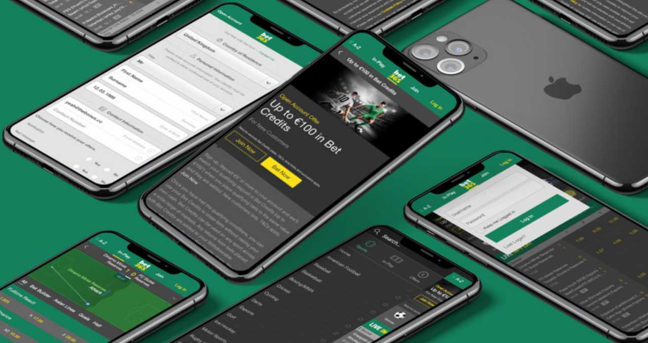 Where to download the app by the Bet365 betting company?