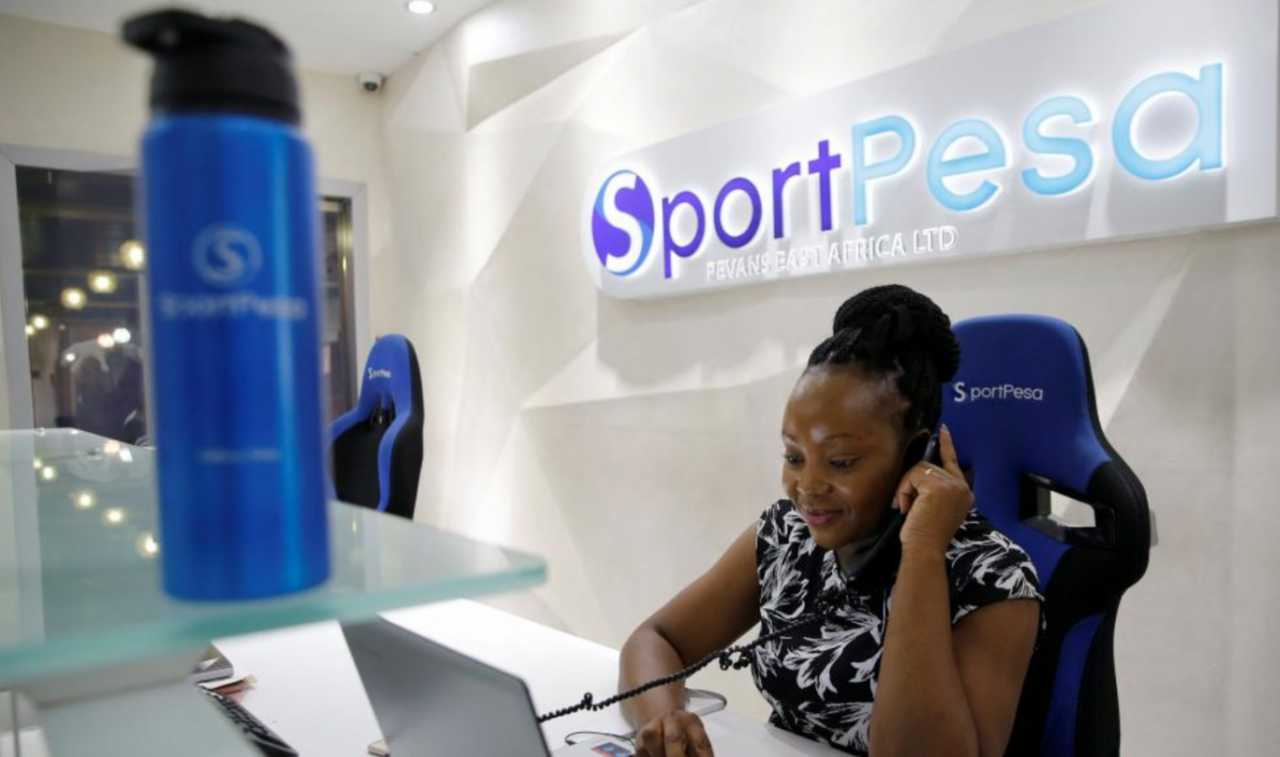 How is the registration held in the Sportpesa company?
