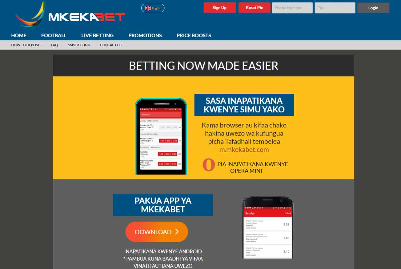 How to download Mkekabet APK app to your gadget?